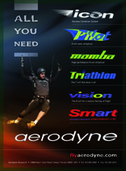 Aerodyne - a canopy of your choice