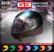 Cookie Composites - A brand new G3 Fullface helmet